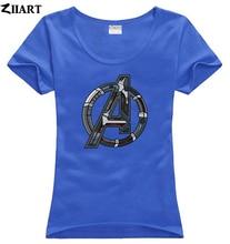 avengers age of ultron simplistic logo couple clothes girl woman female o-neck cotton short-sleeve T-shirt