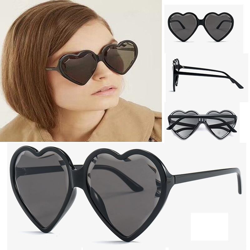 4 De 2 Di Vintage Delle Da Occhiali Oculos 3 Del Carino 1 Marca Per Sole Sol Femmina La 6 5 Sen Donne 7 Maries Bicchieri Cuore Colorati CUqCR