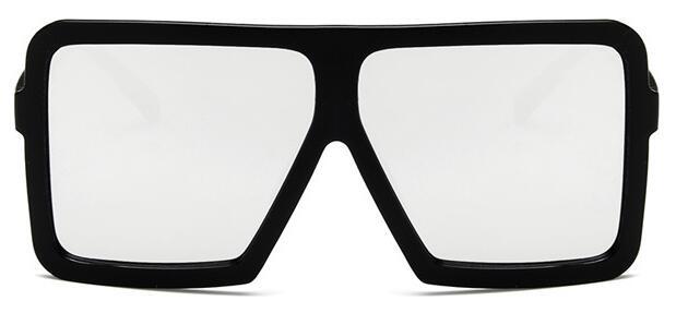 2019 Oversized Sunglasses for Women Brand Designer Vintage Sun Glasses Men Big Frame Glasses Female Male Oculos De Sol in Women 39 s Sunglasses from Apparel Accessories