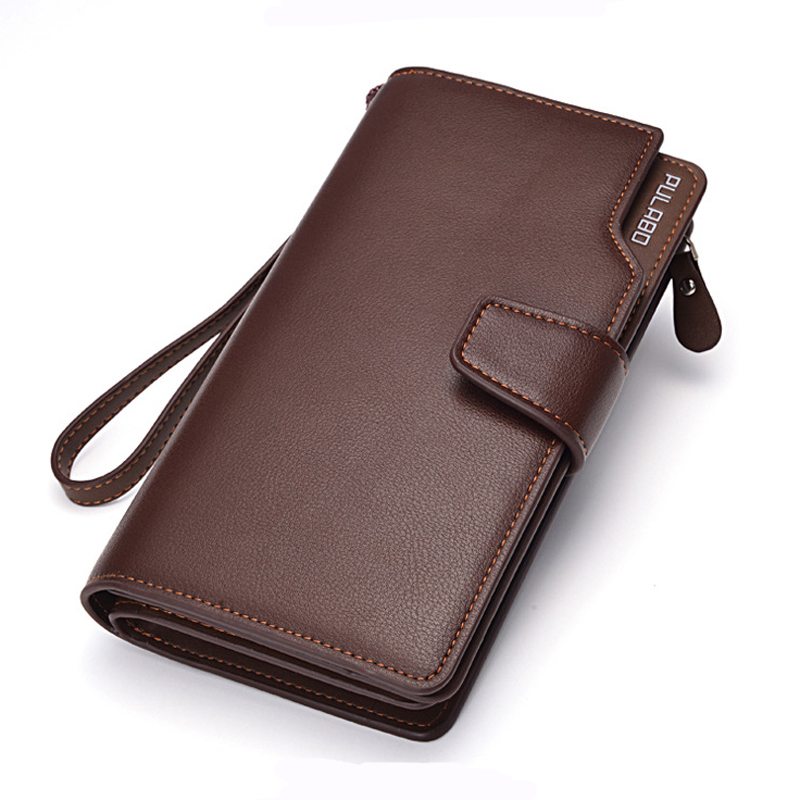 New long style mens leather wallets multifunctional purse 24 card new long style mens leather wallets multifunctional purse 24 card holders designer clutch bag good gift for man in wallets from luggage bags on colourmoves