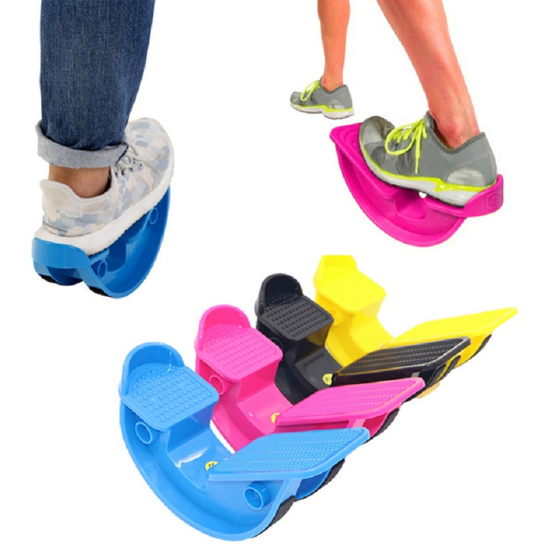 Foot Rocker Calf Ankle Stretch Board Massage Fitness Pedals Stretchers Tool image