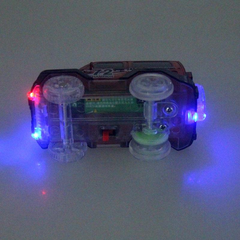 Светящийся гоночный трек изгиб Flex вспышка в темноте сборки гибкий игрушечных автомобилей/165/220/240 шт светящийся гоночный трек Набор DIY головоломки игрушки - Цвет: 1 car random color