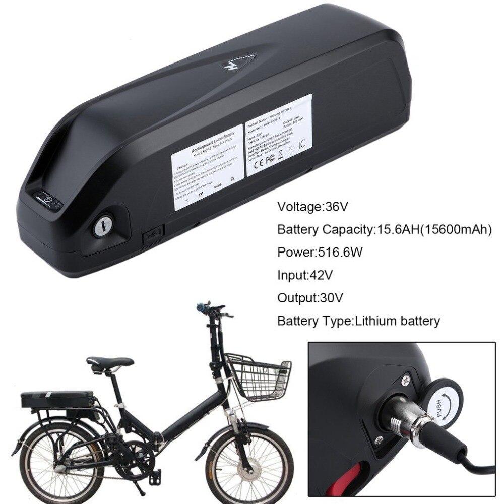 Haute Puissance 36 v 15.6AH 561.6 w Stable Remplacement Batterie Au Lithium Li-ion Batterie Pour Vélo Électrique E-bike Vélos montagne
