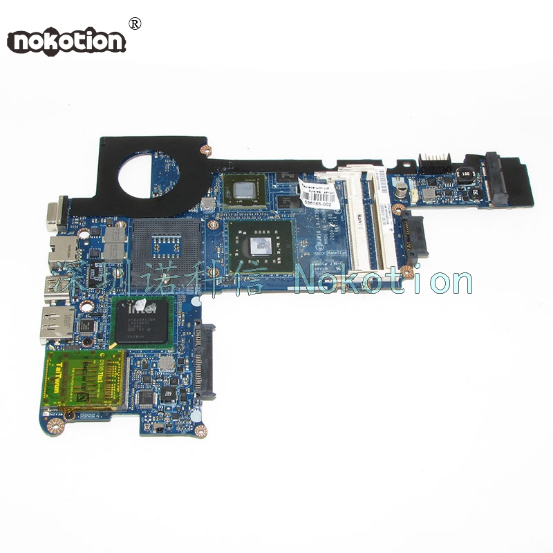 NOKOTION Laptop Motherboard For HP Pavilion DV3 CQ35 KJW10 LA-4731P 530780-001 Main Board Works 574680 001 1gb system board fit hp pavilion dv7 3089nr dv7 3000 series notebook pc motherboard 100% working