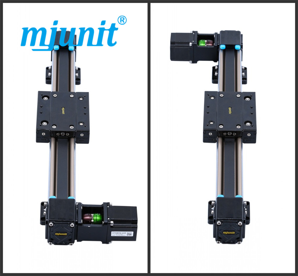 mjunit MJ50 Long Guideway System Linear Motion with 300mm stroke length linear motion actuators mjunit mj40 miniature linear guideway with 400mm stroke