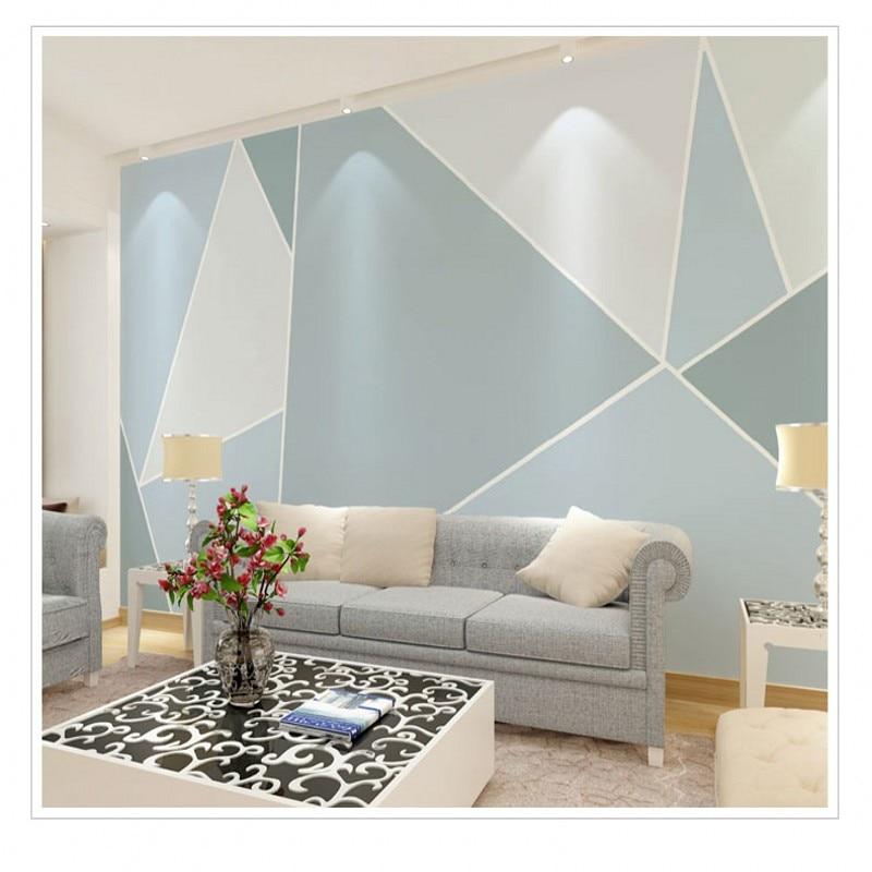 Photo wallpaper modern abstract geometric art graphics for 3d wallpaper for living room in dubai