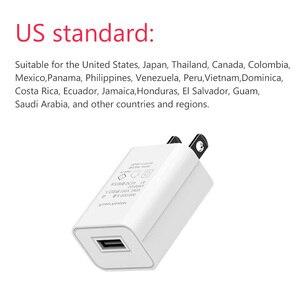 Image 4 - 5V1A chargeur 1 Port USB adaptateur japon états unis voyage mur petit téléphone portable PSE Certification prise électronique charge