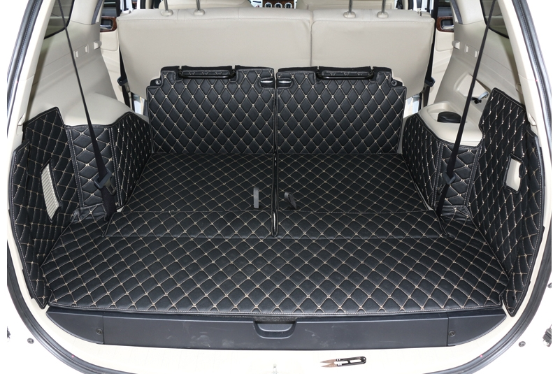 Best ковры! Специальная магистральных грузового лайнера коврики для Mitsubishi Pajero Sport 7 мест 2014-2008 водонепроницаемые ботинки ковры, Бесплатная дос...