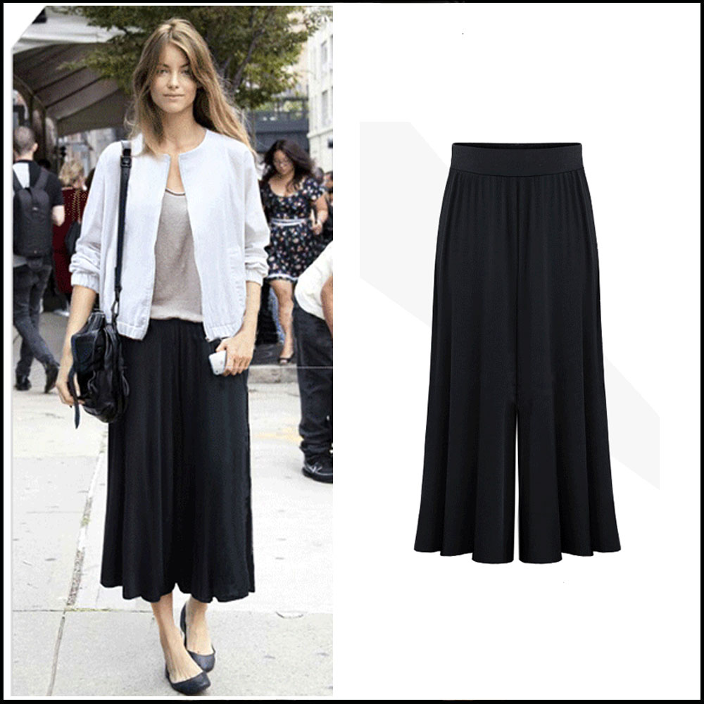 2016 New Arrival Plus Size Xl 6xl Summer Women Wide Leg Loose Dress