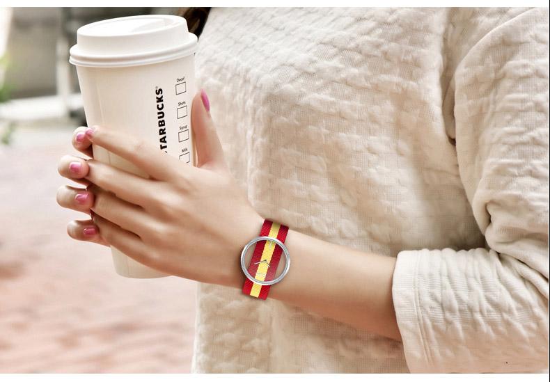 DOM: Reloj de pulsera de lujo para mujer 25