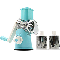 Multi functional Slicer Vegetable Cutter Manual Potato Carrot Slicer Cheese Grater Stainless Steel Blades Kitchen Tool