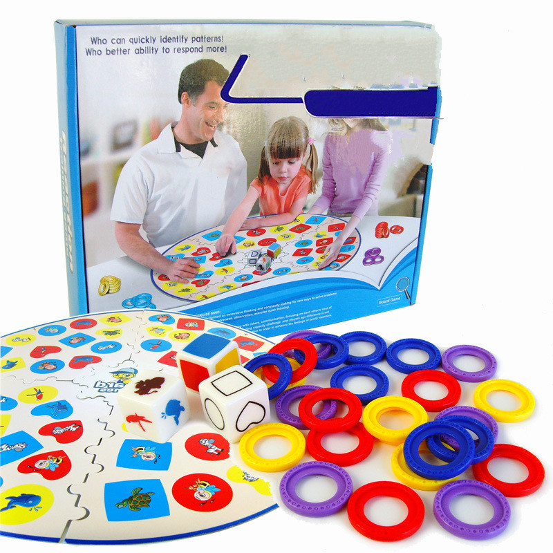 Finger Up Board Game Reaction Training Game for Kids English Verison Family Puzzle Game