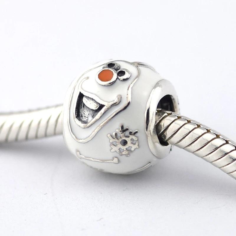 Animal 1pcs european CZ Charm Beads Fit 925 Silver Bracelet Necklace Chain DIY