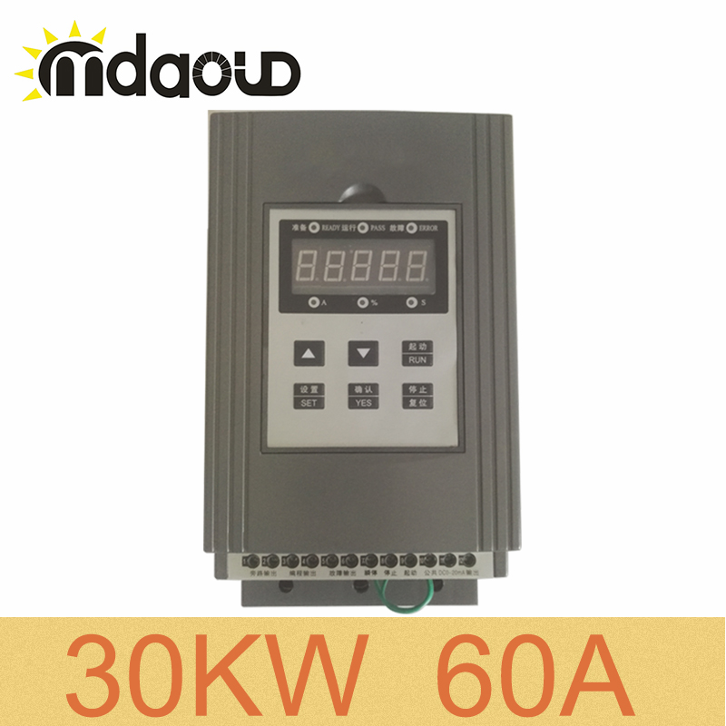 380V three phase 30KW/ 60A soft starter for three phase AC asynchronous motor squirrel cage motor380V three phase 30KW/ 60A soft starter for three phase AC asynchronous motor squirrel cage motor