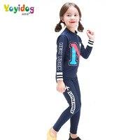 Swimming Suits New Children S Letters Swimsuit Girl Cartoon Children S Sun Clothing Baby Split Swimsuit