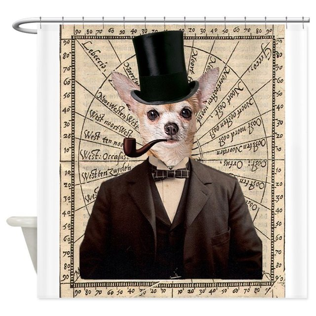 Steampunk Chihuahua Dog Victorian Altered Art Show