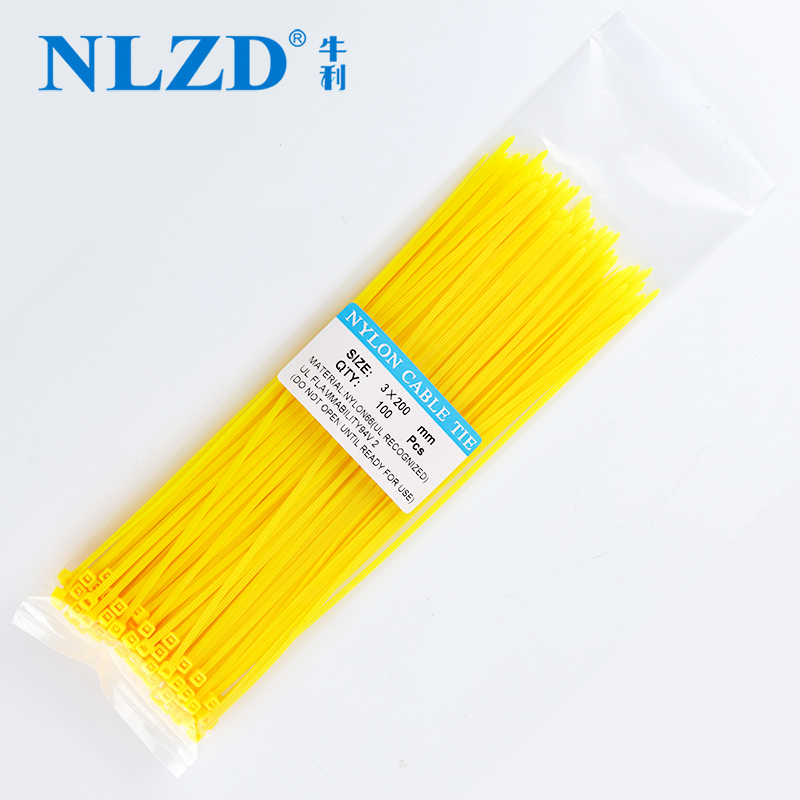 4.8mm x 100mm to 500mm Self Locking Nylon Cable Ties various size colour 2.5mm