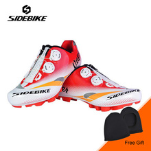 SIDEBIKE Bicycle Cycling Mountain Bike Racing Athletic Shoes MTB Bike Cycling Shoes Self-locking Shoes Ciclismo Zapatos