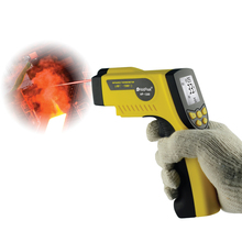 ФОТО holdpeak hp-1300 digital infrared thermometer -50'c~1300'c non contact thermometer temperature meter laser thermometer tester
