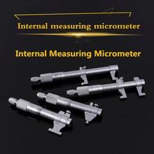 Внутренний микрометр 0,01 мм метрический твердосплавный храповый винт Калибр Профессиональный измерительный инструмент 5-30 мм 25-50-75-100-125-150-175-200mm