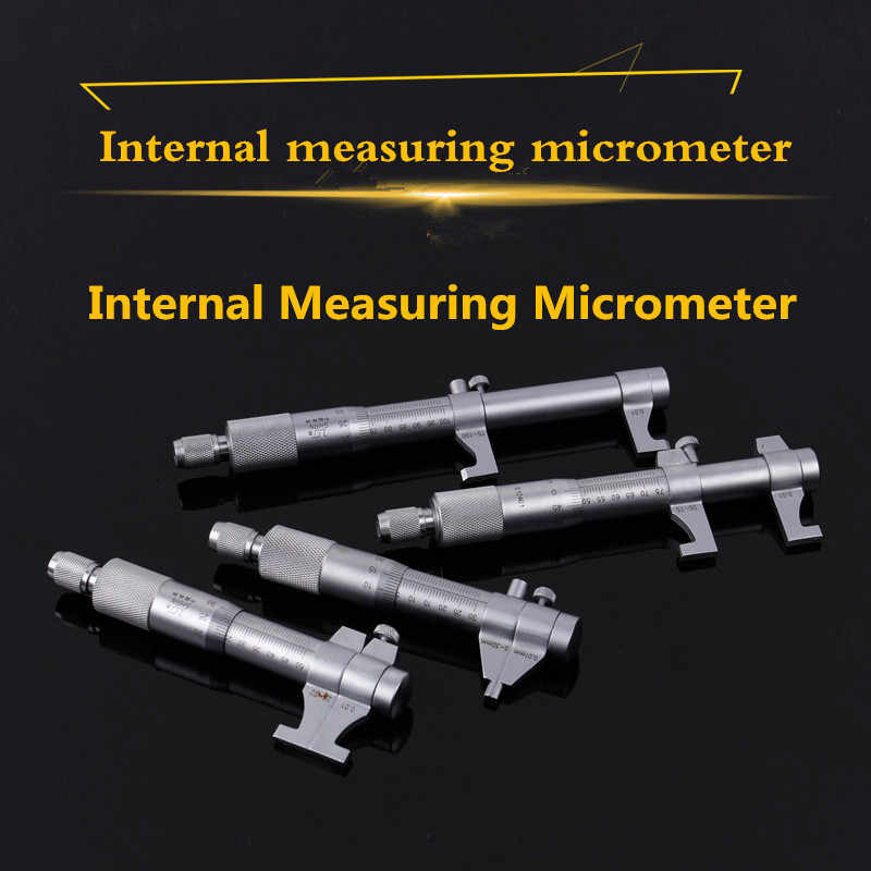 Binnen Micrometer 0.01mm Metric Carbide Ratel Schroef Gauge Professionele Meetinstrument 5-30mm 25-50-75-100-125-150-175-200mm