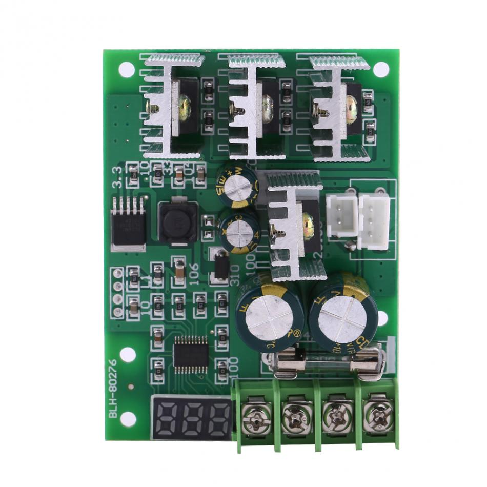 Motors & Parts 100pcs Dc6-60v 30a Digital Display 0~100% Adjustable Drive Module Pwm Dc Motor Speed Controller With Case