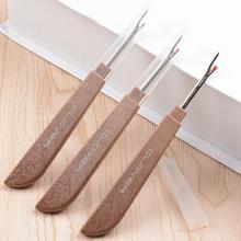 Новинка с листком клевера много стальных пластиковых ручек ремесло резец резьбы шов рыхлитель стежка Unpicker иглы искусство швейные инструменты для шитья