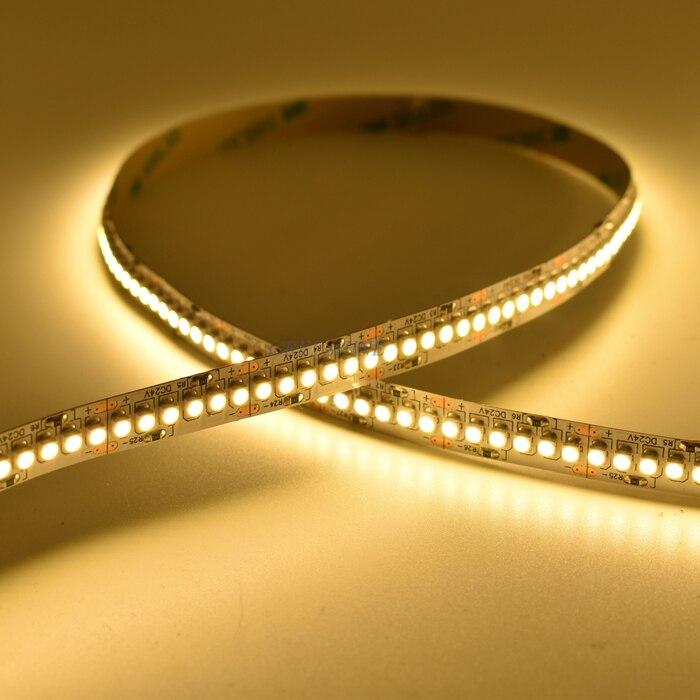 Us 219 6 3528 Flexible Led Strip Light 240led 24v Lighting White 19 2w 1200 Leds Ip20 Flex Warm 30m Lot Freeshipping In Strips