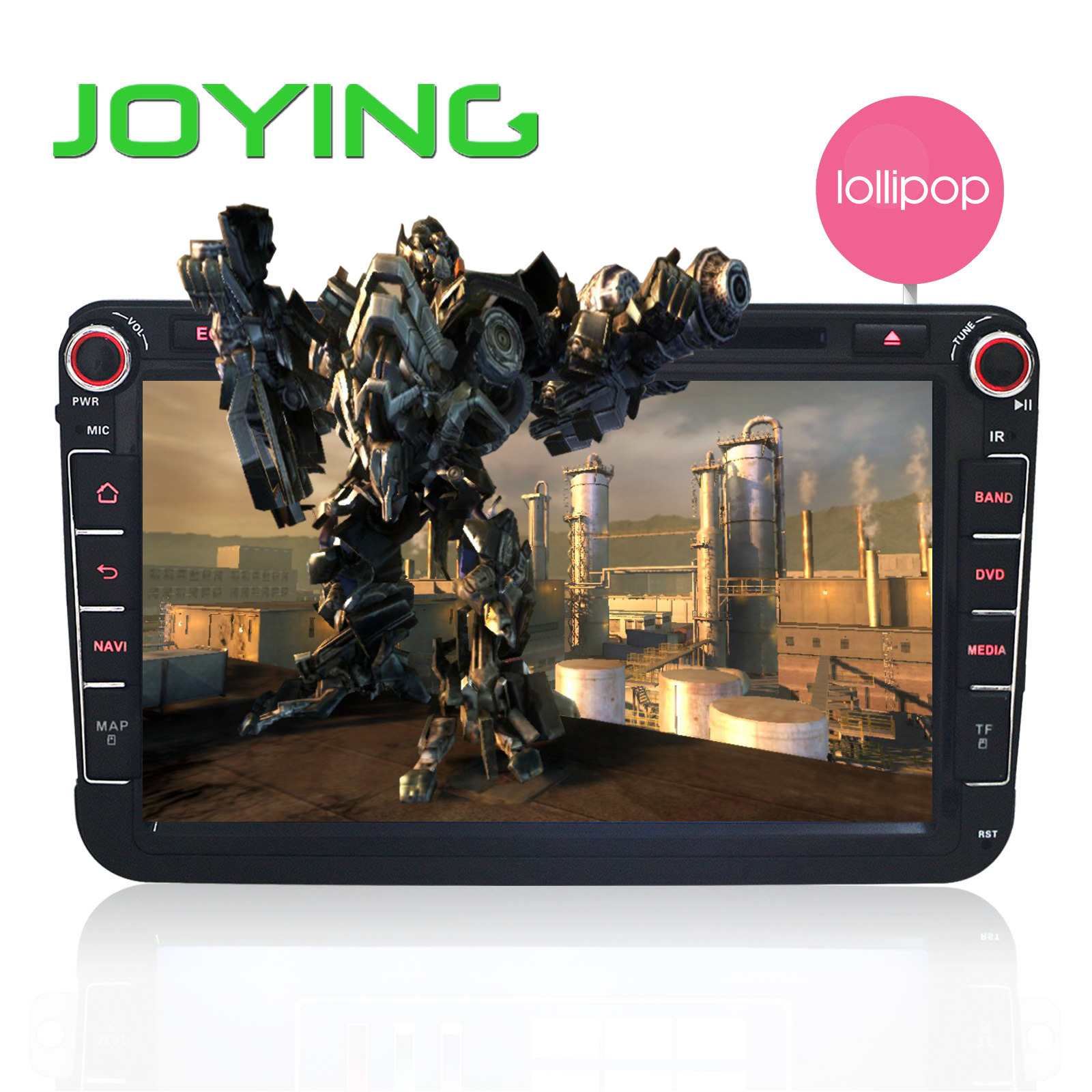 """8""""  Android 5.1 Lollipop Quad Core Head Unit For VW 1024*600 Car GPS Navigation For Volkswagen Seat Skoda DVD Player Car Stereo"""