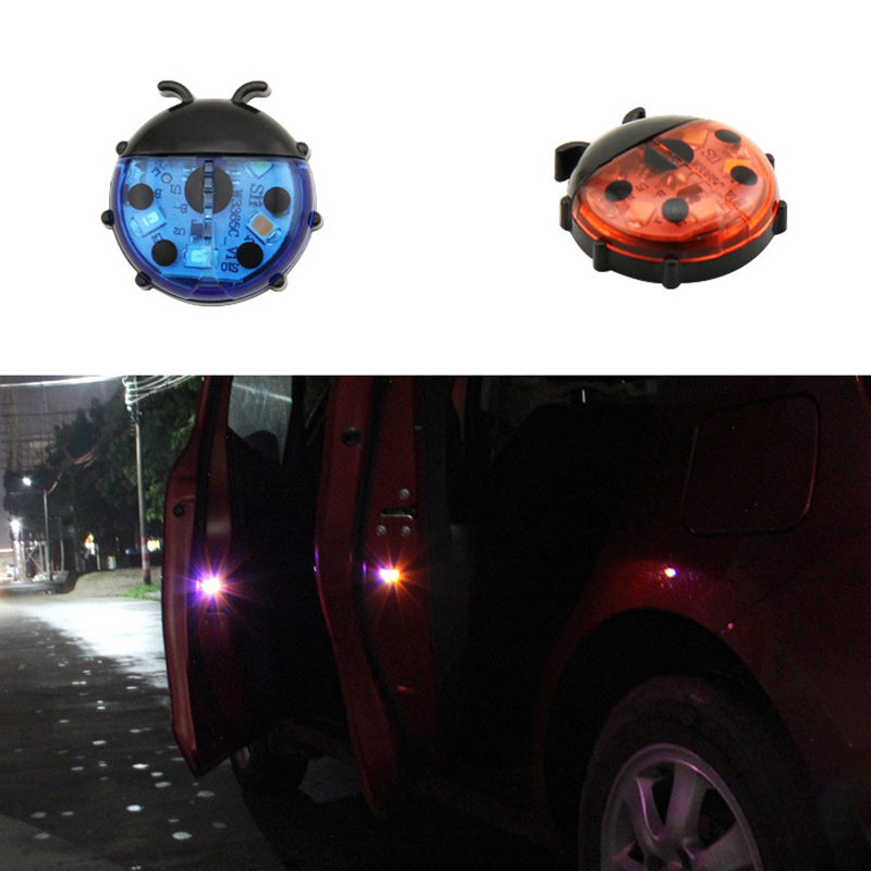 Car Door Lights LED Warning Anti Collision Magnetic