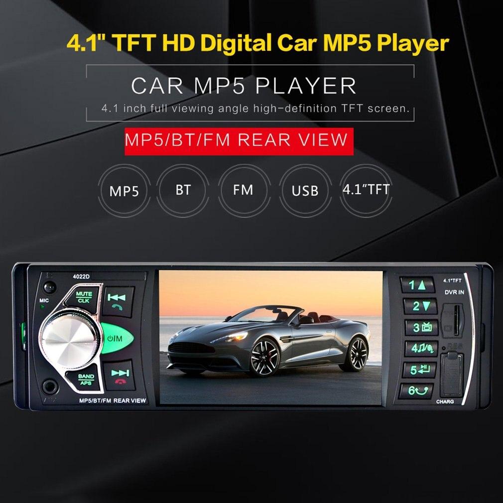 Новые 4.1 дюймов автомобиля mp5 плеер TFT HD цифровой Экран Радио fm-передатчик Поддержка Bluetooth звонки Hands-Free Прямая доставка