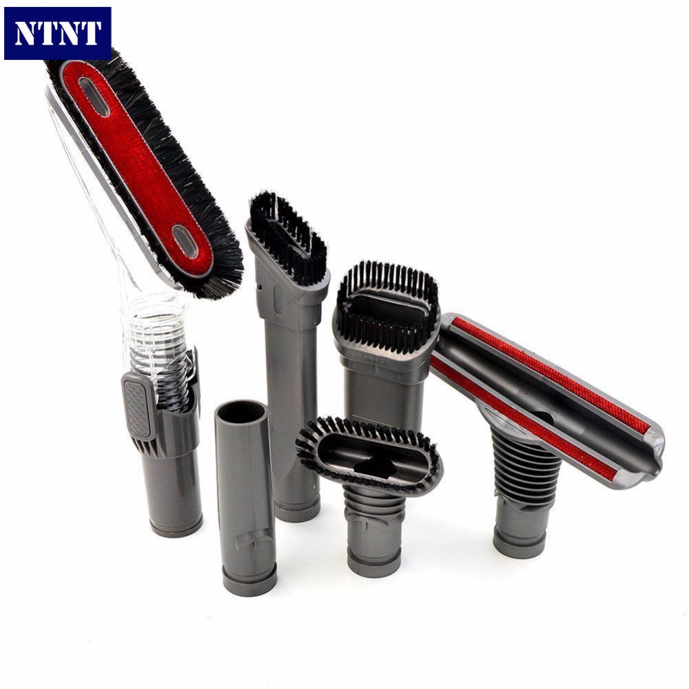 NTNT For Dyson DC08 DC24 DC25 DC33 Hand Vacuum Cleaner Allergy Home Care Tools Spare Parts Allergy Brush Accessories dyson dc37 allergy musclehead