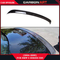 Carbon Fiber Rear Spoiler Wing AC Style 5 Series E60 race car wing Car Accessories parts For BMW E60 04 10