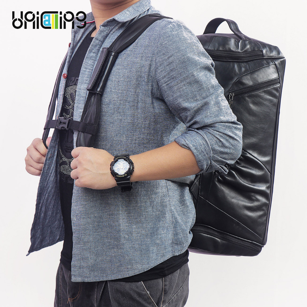 New 2019 Canvas Waterproof Trendy Photography Bag Outdoor Wear resistant Large Backpack Men for Nikon/Canon/ Sony/Fujifilm - 2