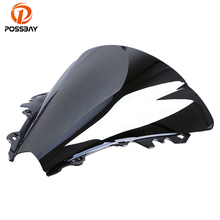 POSSBAY Heated Multi-Colored Motorcycle Windshield Motorbike Windscreen Deflectors Fit For YAMAHA YZF R6 2006-2007