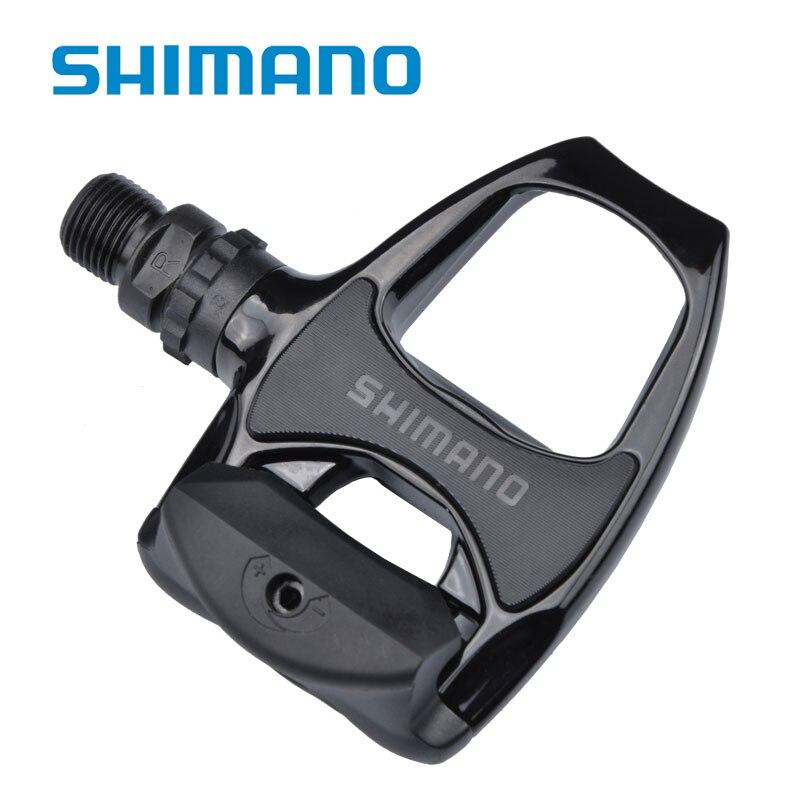 Pedal da bicicleta Shimano PD-R540 Auto-travamento do Pedal Da Bicicleta Pedal de liga de Alumínio Bicicleta Bicicleta Sem Bicicleta Pedal Da Bicicleta Da Estrada