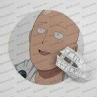 Babaite  ONE PUNCH-MAN Silicone Pad to Mouse Game Size for  20x20cm Gaming Mousepads 1