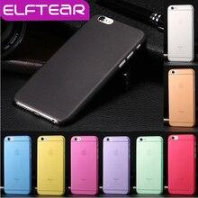 1 шт. back case for iphone 7 7 plus для iphone 6 6s плюс матовый прозрачный ультра-тонкий 0.3 мм жесткий pc прозрачный тонкий телефон case