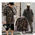 Spring Autumn  bape hoodie Fake two Camouflage sweatshirt Fashion hip hop Men's hoodies Korean version hoodies men Sportswear