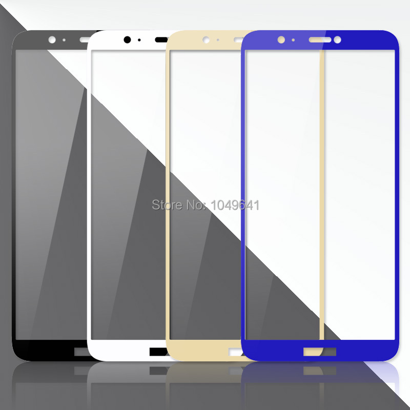 2.5D Tempered Glass Full Cover Protective For Huawei P Smart FIG-LX1 5.65