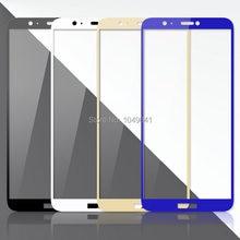 2.5D закаленное стекло с полным покрытием, защитная пленка для Huawei P Smart FIG-LX1 5,65, Защитная пленка для экрана Huawei P Smart, стеклянный чехол