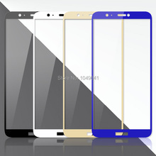 2.5D Tempered Glass Full Cover Protective For Huawei P Smart Screen Protector Film for Huawei P Smart Glass Cover for smart watch samsung gear huawei garmin lg moto xiaomi screen protector cover universal round tempered glass protective film