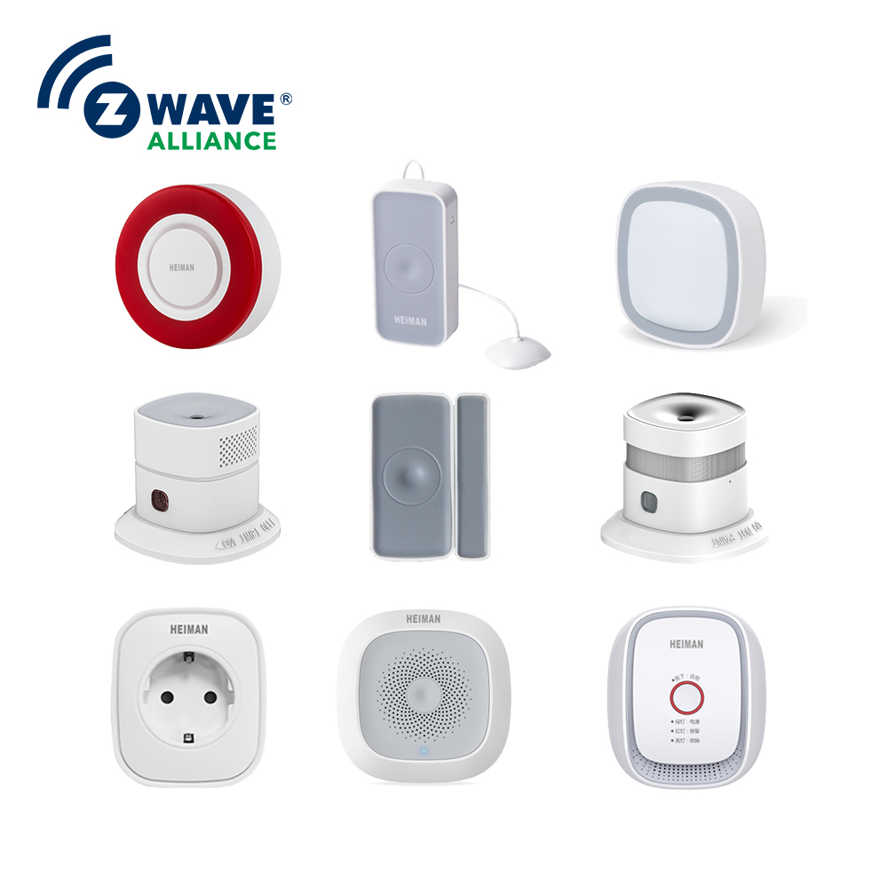 Coolest Smart Home Solution High Rated 2.4ghz Digital Wireless Security Alarm Zwave Smart Home Automation Integration Sensors