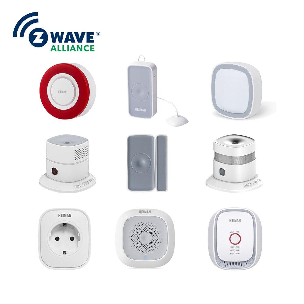 La Solution la plus cool pour la maison intelligente haute note 2.4 ghz alarme de sécurité sans fil numérique Zwave capteurs d'intégration domotique intelligente