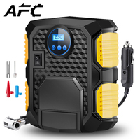 Digital Tire Inflator DC 12 Volt Car Portable Air Compressor Pump 150 PSI Car Air Compressor for Automobiles Motorbikes Bicycles