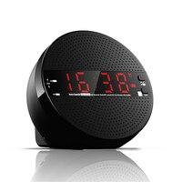 Wireless Radio FM Bluetooth Speaker LED Time Alarm Clock TF USB Music Player Subwoofer Loudspeakers For
