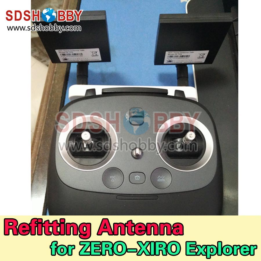 ФОТО Remote Controller Repeater Ultra-long Illustrated Modified Extended Range Antenna Range Extender for XIRO-ZERO-Explorer