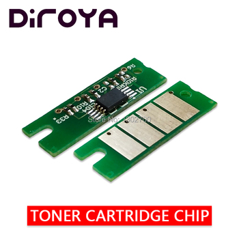 100PCS 407383 407384 407385 386 Toner Cartridge Chip For ricoh Aficio SP C352 C352E C352DN C352 C 352dn 352e SPC352 powder reset