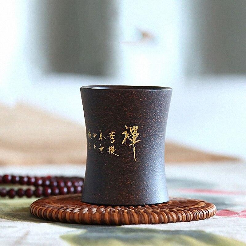 PNNY 60ML Yixing Purple Clay Zen Tea Cup Sand Heat Resistant Ceremony Accessories Crafts