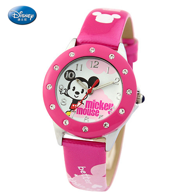 Disney Cartoon Watch Women Watches Kids Quartz Wristwatch Child Boy Clock Girl Gift Relogio Infantil Reloj Ninos Montre Enfant